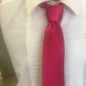 Other - Men's fuchsia pink necktie